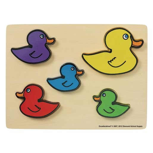 Excellerations® Ducks Chunky Puzzle