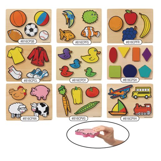 Image of Excellerations Chunky Puzzles