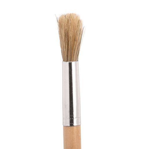 Colorations® Classic Wooden Chubby Brushes - Set of 24