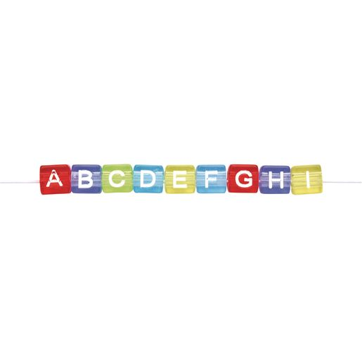 Colorations® Colored ABC Beads - 300 Pieces_2