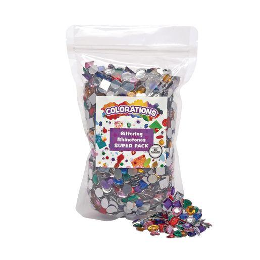 Colorations® Rhinestones Super Pack - 2,000 Pieces