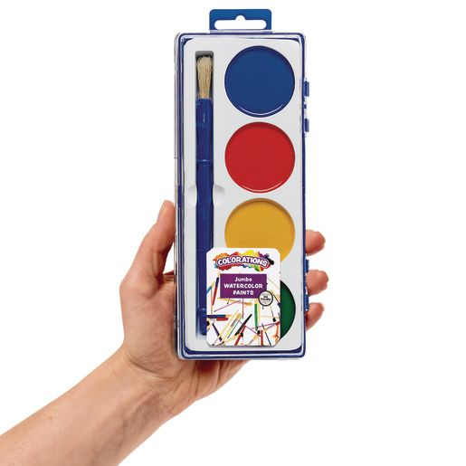 Colorations® Jumbo Washable Watercolor Classroom Pack