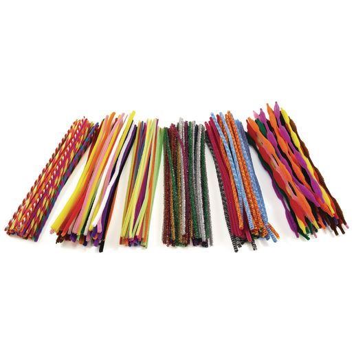 Image of Colorations Pipe Cleaner Classroom Pack - 250 Pieces