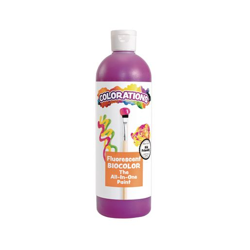 BioColor® Paint By Colorations, Fluorescent Purple, 16 oz.