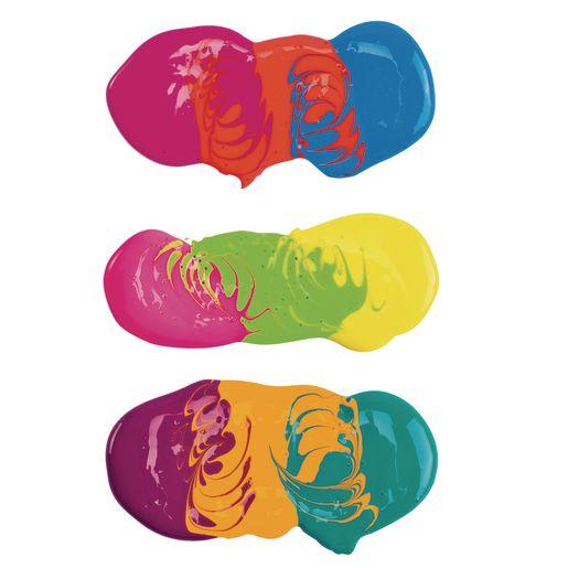 BioColor® Paint, Fluorescent Purple - 16 oz.