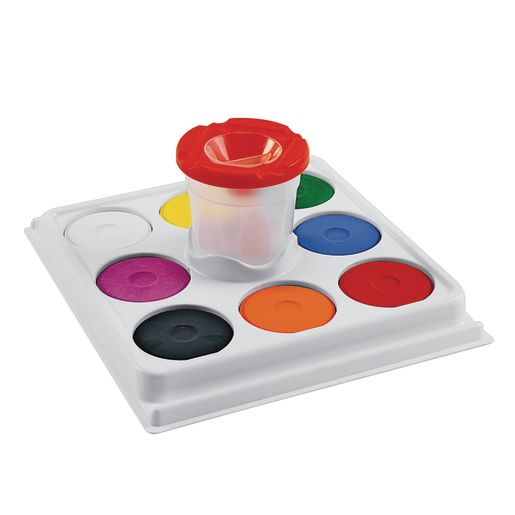 Colorations® Cup and Tray Tempera Cakes