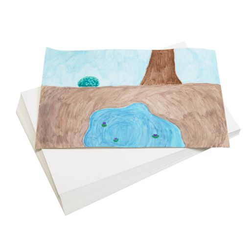 "12"" x 18"" Real Watercolor Paper - 50 Sheets"