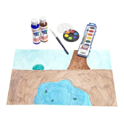 "12"" x 18"" Real Watercolor Paper,50 Sheets"