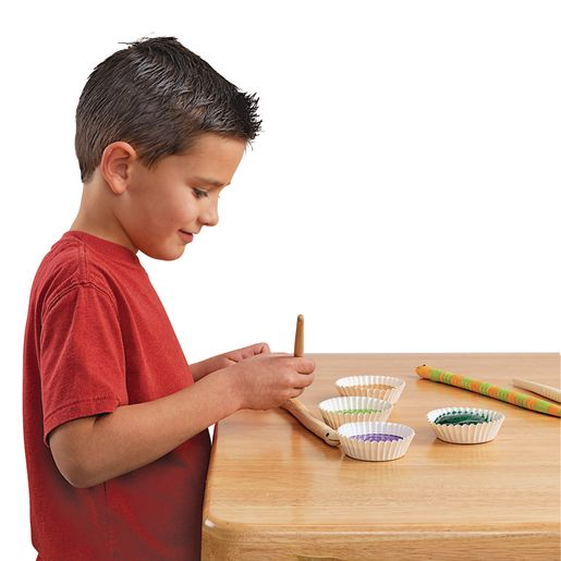Colorations® Wooden Slithering Snakes - Set of 12