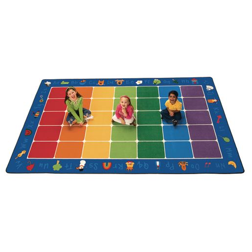 "Fun with Phonics Rug - 8'4"" x 13'4"" Rectangle"