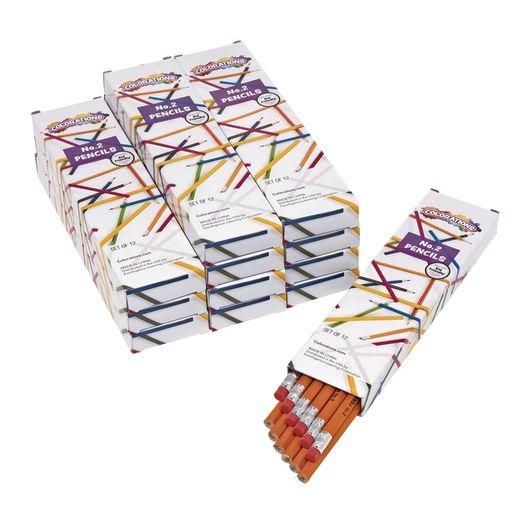 Colorations® No.2 Pencils - Set of 144