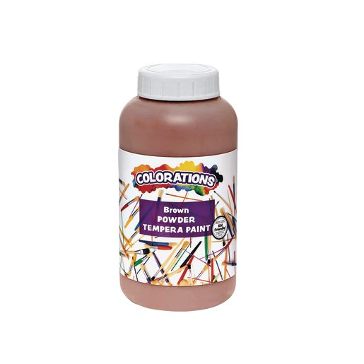 Colorations® Powder Tempera, Brown - 1 lb.