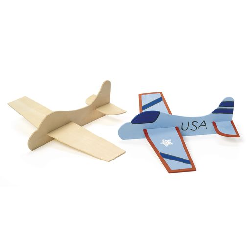 Colorations® Wooden Model Airplanes- Set of 12_5