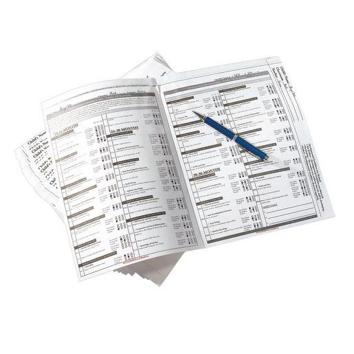 Infant Developmental Checklist Folders