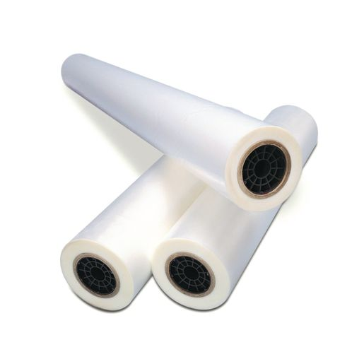 "27"" Laminating Film - 1 Roll, 1"" Core, 1.5mm thickness, 27""w x 500'"