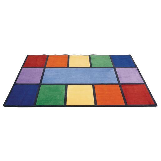 Image of Rainbow Rug - 5'10 x 8'5 Rectangle