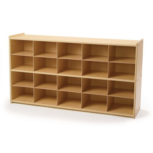Image of Angeles Value Line Cubbie Storage - 47-3/4W, Without Trays