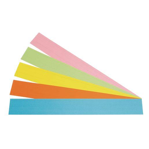 Rainbow Assorted Sentence Strips - 100 Strips