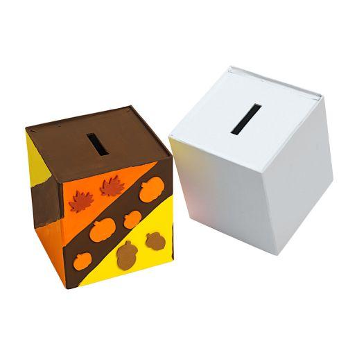 Image of Colorations Papier-Mache Banks - Set of 12