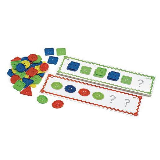 Excellerations® Who's Got the Button? Patterning Activities