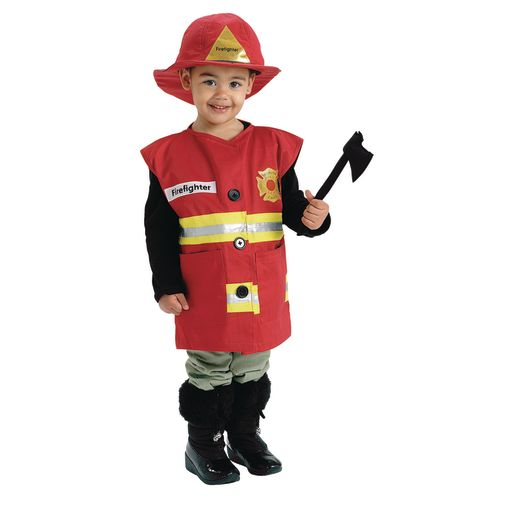 Excellerations® Career Toddler Costume - Fire Fighter