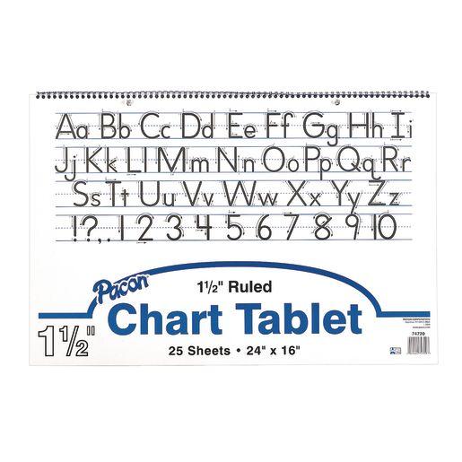 Image of Manuscript Chart Tablet - 25 Sheets