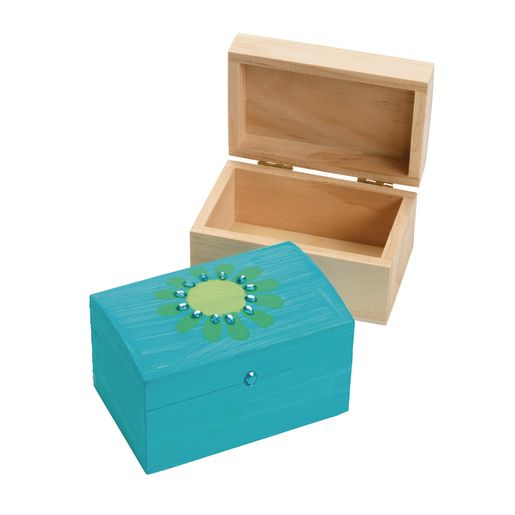 Colorations® Wooden Treasure Boxes - Set of 12_1