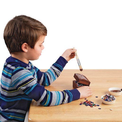 Colorations® Wooden Treasure Boxes - Set of 12_4