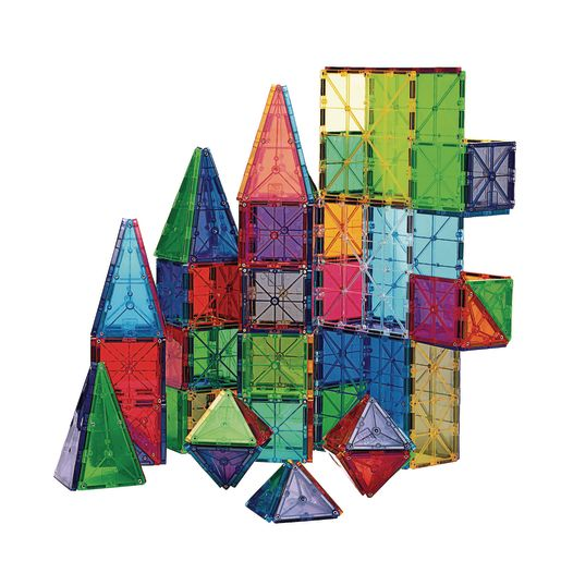 Image of Magna-Tiles Clear Colors - 100 Pieces