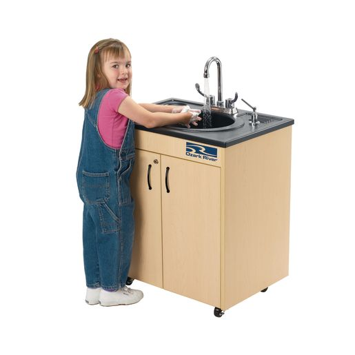Ozark River® Lil' Portable Hot Water Sink with ABS Top and Basin_2