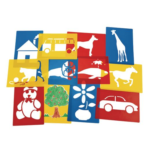 Washable Plastic Stencils Mega Set