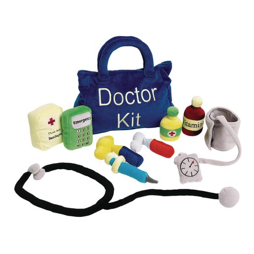 Excellerations® Plush Doctor Kit - 10 Pieces_0