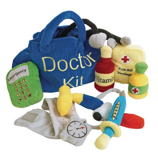 Excellerations® Plush Doctor Kit - 10 Pieces_3