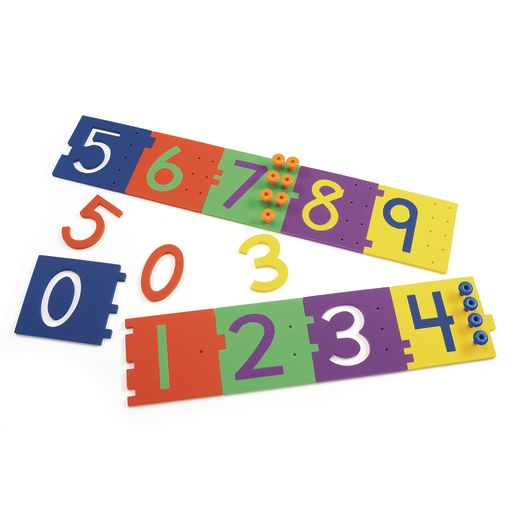Image of Excellerations Giant Peg Numerals - 70 Pieces