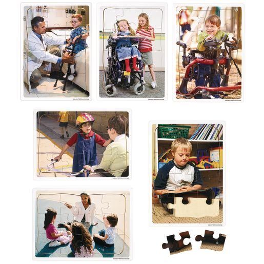 Excellerations® Inclusion Puzzles - Set of 6