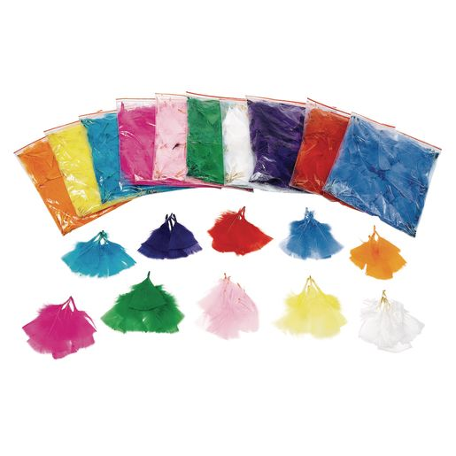 Colorations® Solid Color Feather Pack - 5 oz.