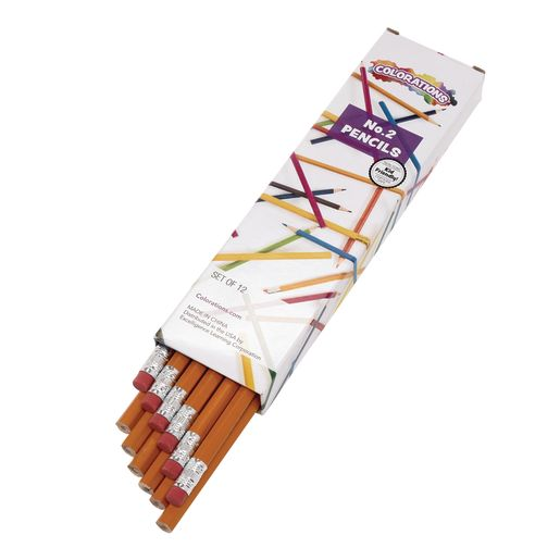 Colorations® No.2 Pencils - Set of 12_0