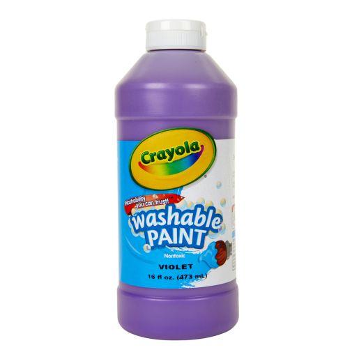Violet Crayola® Washable Paint, 16oz