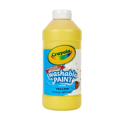 Yellow Crayola® Washable Paint, 16oz