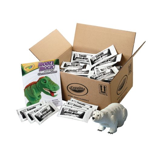 Image of White Crayola Model Magic Classpack