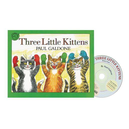 The Three Little Kittens Book & CD_0