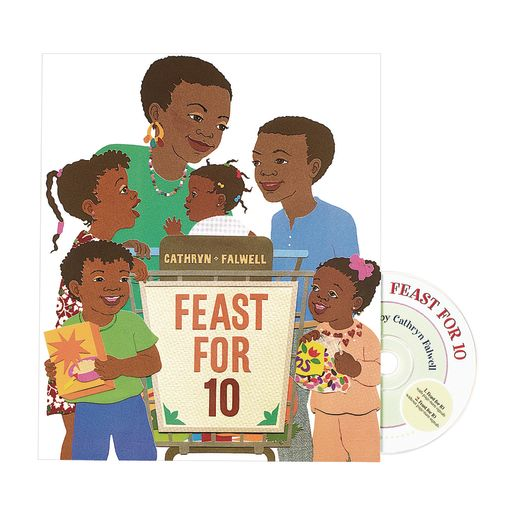 Feast for 10 Book & CD