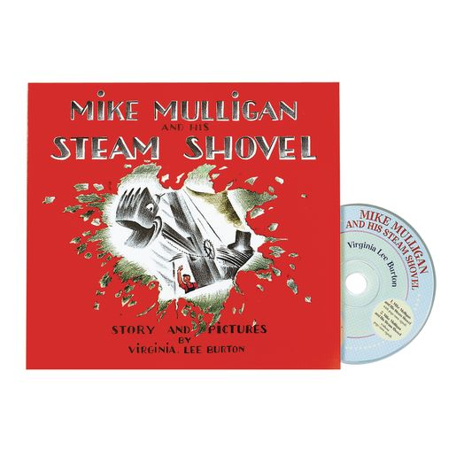 Mike Mulligan and His Steam Shovel Book & CD_0
