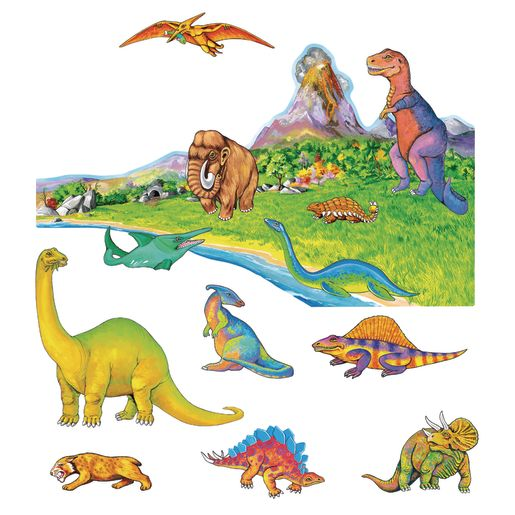 Image of Dinosaurs Felt Set