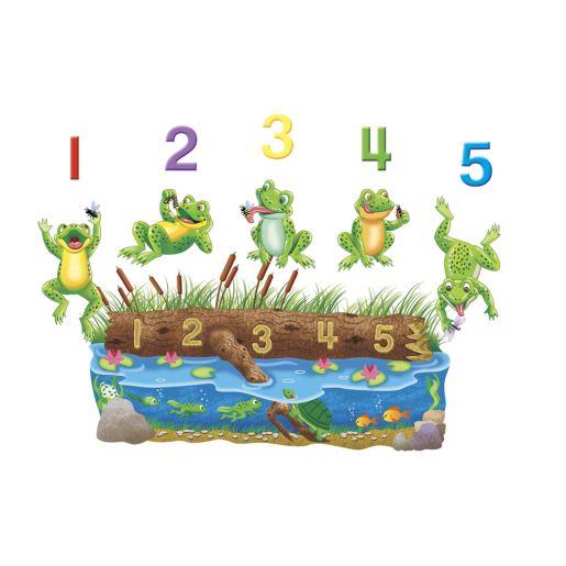 Image of Five Speckled Frogs Felt Set