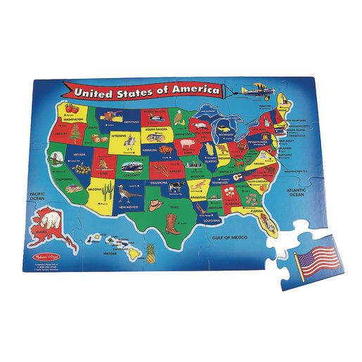 Image of USA Floor Puzzle- 51 Pieces