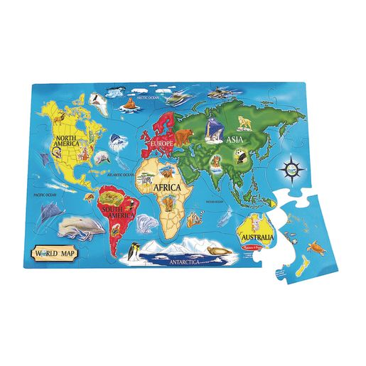 Image of World Floor Puzzle
