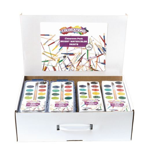 Image of Colorations 16 Color Watercolor Classroom Pack - Set of 40