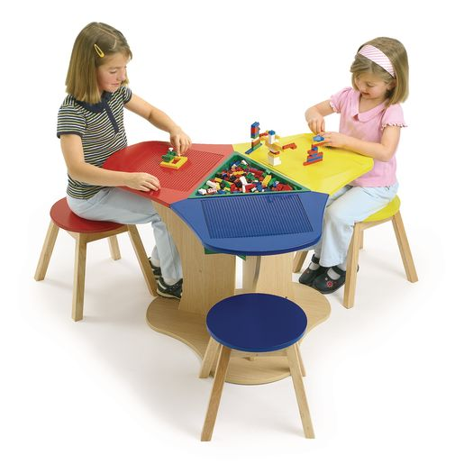 Block Activity Table with Base Plates