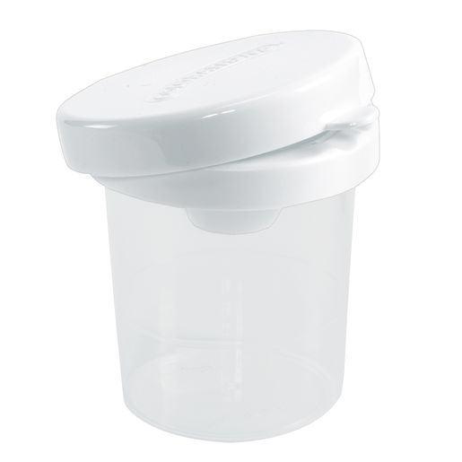 Colorations® No-Spill White Lid Paint Cups - Set of 10